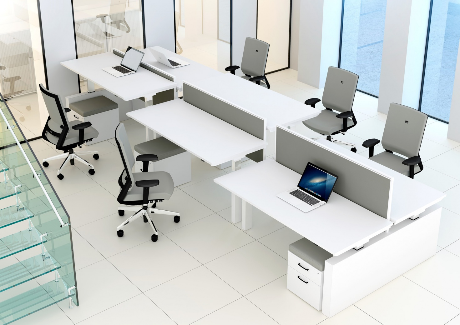 Sit Stand Office Desks Office Furniture Derby Irongate
