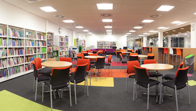 A colourful furniture solution for Derby College