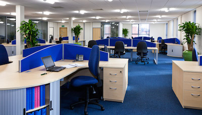 A full interiors fit-out for Porterbrook Leasing