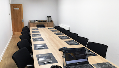 A new conference room for Rock Fall UK